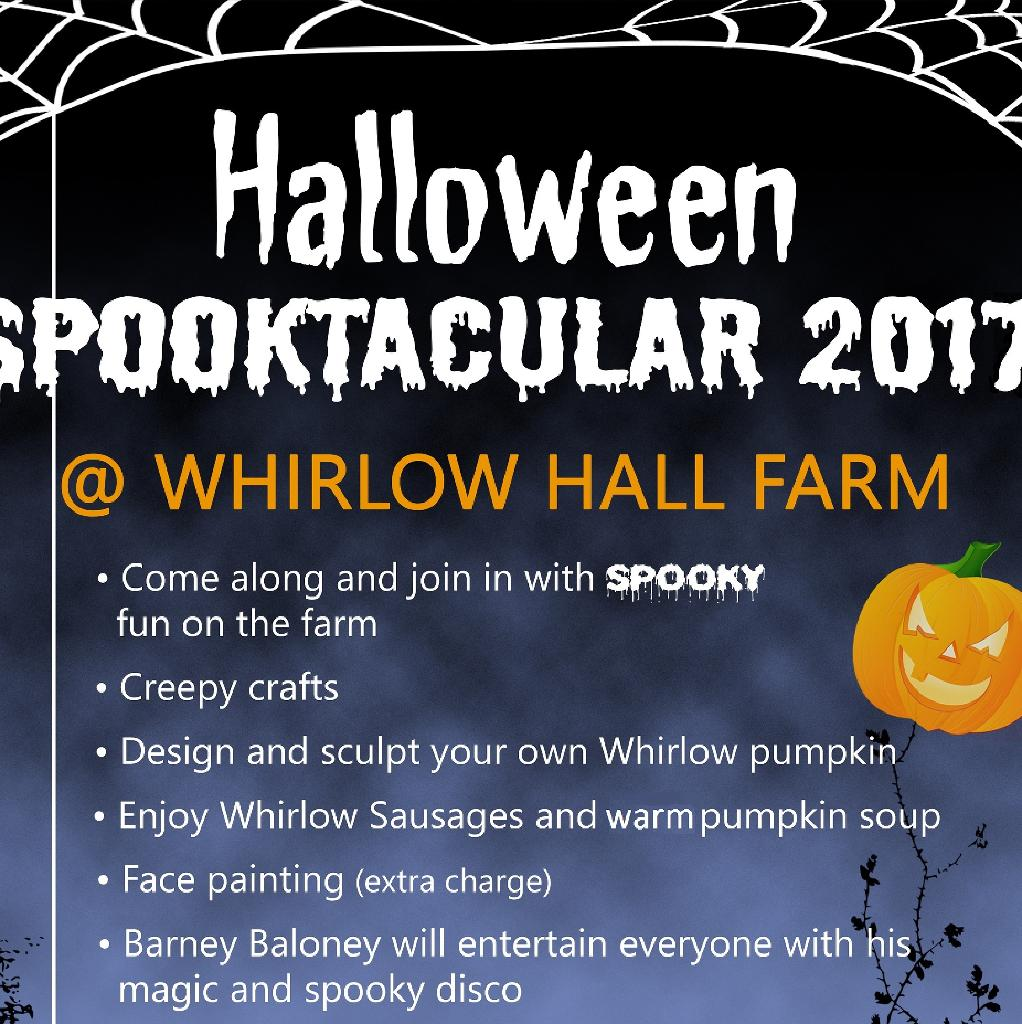 Halloween Spooktacular 2017 - 31st October 2pm-5pm