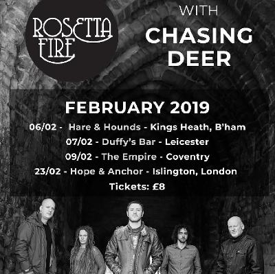 Jamin Records Presents Rosetta Fire and Chasing Deer