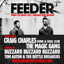 Feeder + Craig Charles Live at Tredegar Park