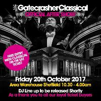 Gatecrasher Classical OFFICIAL AFTER SHOW Party