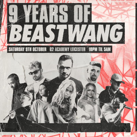Beastwang w/ Andy C, Clipz, Kanine, Simula, Gray, Ben Snow