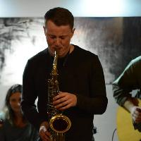 Trish Ferrarin (pianist) with Sam French (saxophone)