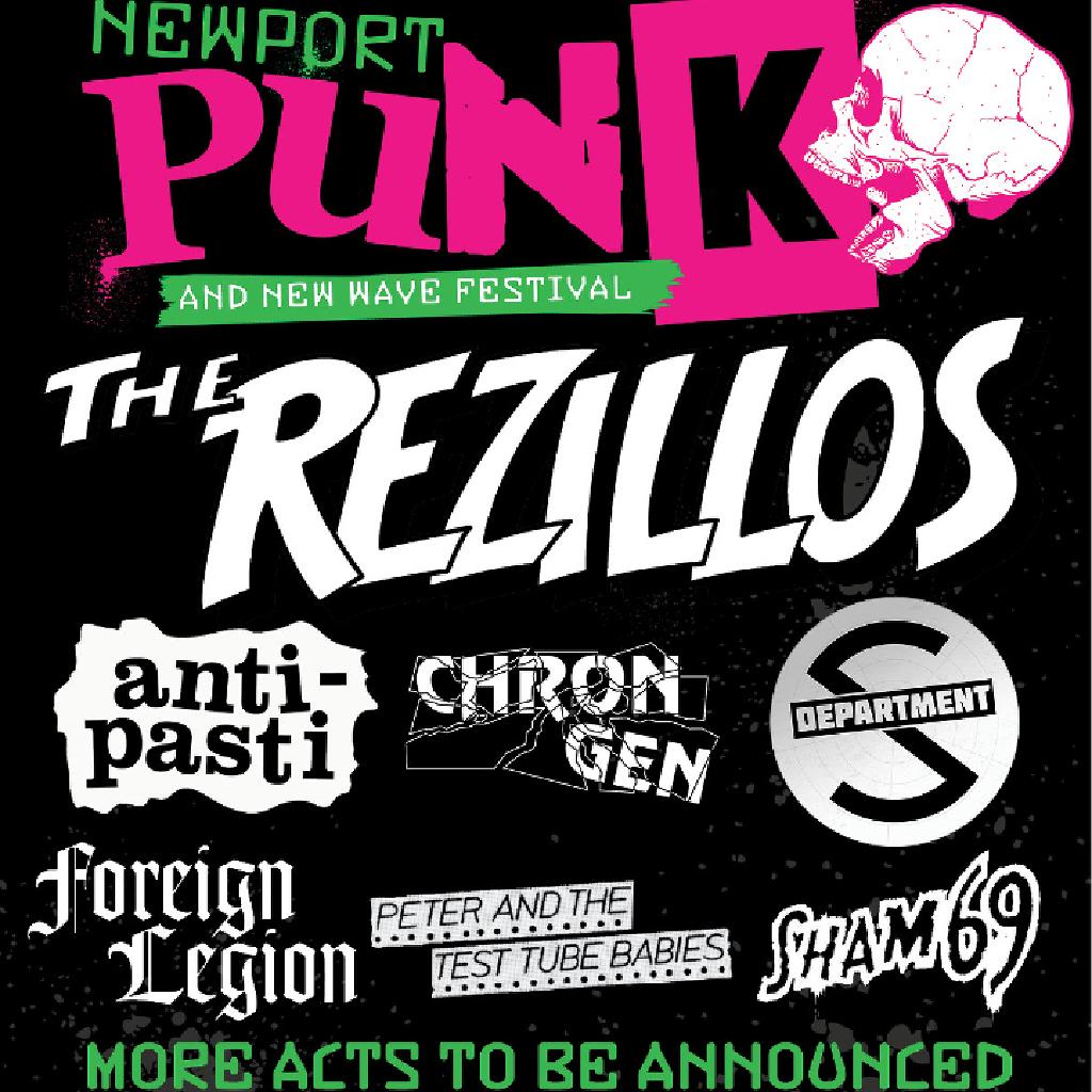 Newport Punk and New Wave Festival - 'The Future Is Unwritten'