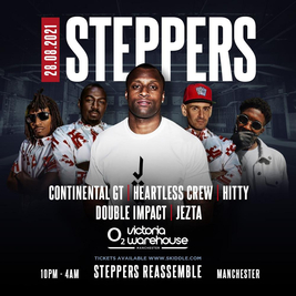 STEPPERS REASSEMBLE - Continental GT, Heartless Crew & More