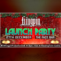 Kingpin Production Xmas Launch Party