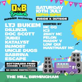 DnB Brunch - Birmingham - Summer Alldayer