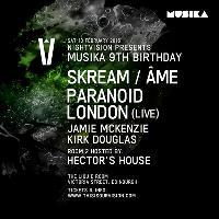Nightvision presents Musika 9th Birthday
