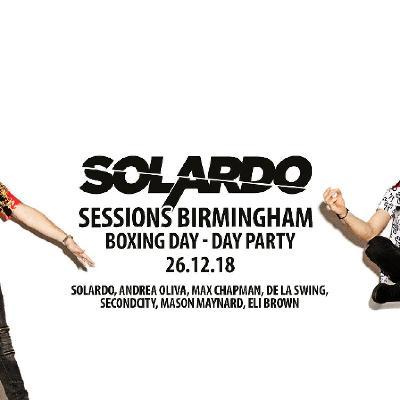 Solardo Sessions Birmingham