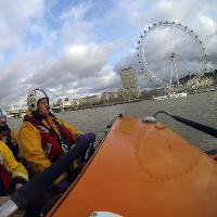Coca Cola London Eye Turns Yellow for the RNLI