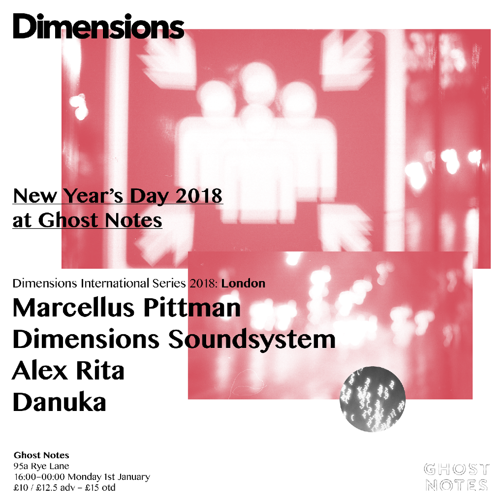 New Year's Day - Dimensions Festival Present Marcellus Pittman