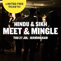 Free Hindu & Sikh Meet and Mingle, Social Evening, Birmingham