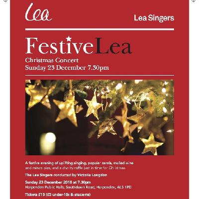 Lea Singers Christmas Carol Concert - FestiveLea