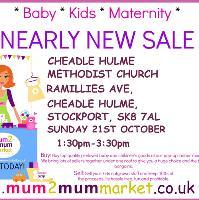 Mum2mum Market (Cheadle Hulme) Nearly New Sale
