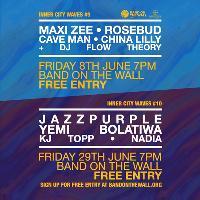 Inner City Waves: Jazz Purple + Yemi Bolatiwa + KJ Topp + Nadia