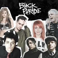 Black Parade - My Chemical Romance aftershow party