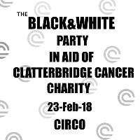 The black&white party in support of clatterbrige cancer charity