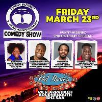 Funny Bizznez Comedy, 2nd Anniversary Show Special!