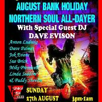 TOO DARN SOULFUL - August Bank Holiday Alldayer