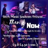 BOA Music Students Present Then & Now