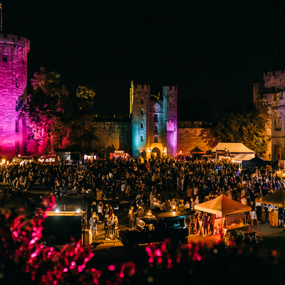 An open-air beer garden set inside the iconic Warwick Castle Grounds. Brought to you by Digbeth Dining Club.