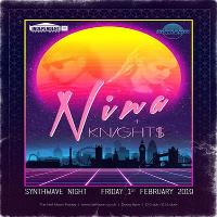Nina and knight$ live: synthwave electro music