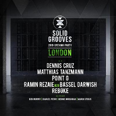 Solid. Grooves - 2019 Opening Party