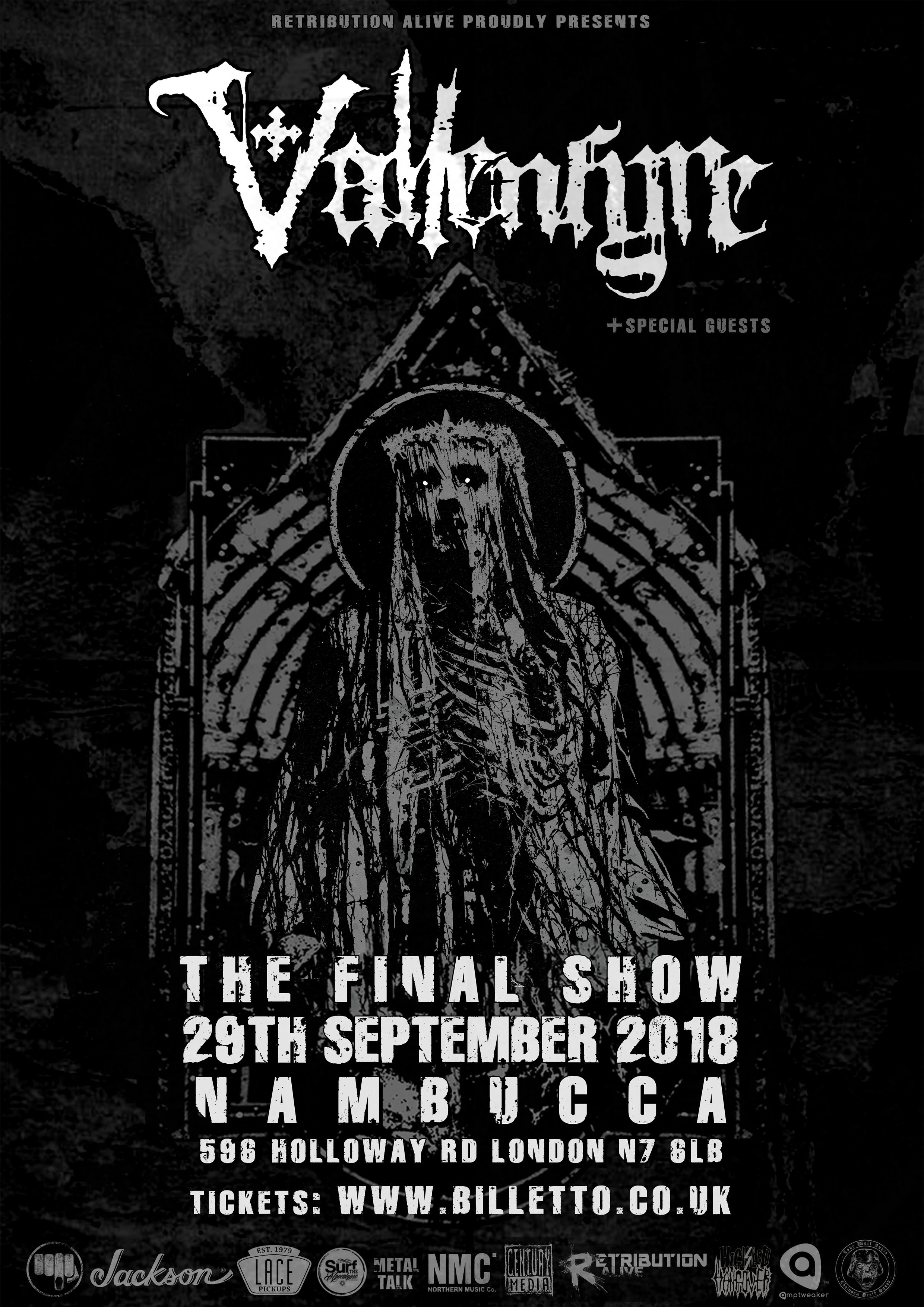 Retribution Alive: Vallenfyre - The Final Show | Nambucca London ...