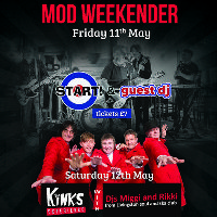 Mod Weekender Kinks Experience and Djs Miggy and Rikki