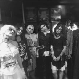 80's Revellers Halloween night