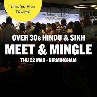 FREE Hindu & Sikh Meet and Mingle, Birmingham - Over 30s