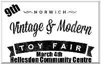 9th Norwich Vintage & Modern Toy Fair