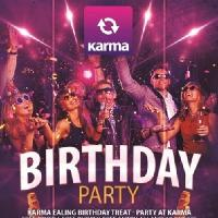 Karma Ealing Birthday and Stag promotion - 10 free tickets