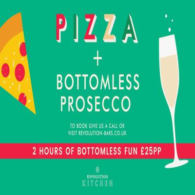 Pizza & Bottomless Prosecco