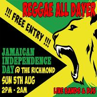 Reggae All Dayer - Jamaican Independence Day
