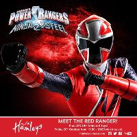 Meet the Red Ranger at Hamleys Glasgow!