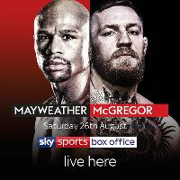 Mayweather Vs Mcgregor LIVE! on the Big Screen