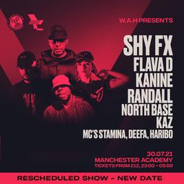 WAH - Shy FX, Flava D, Kanine, Randall + more!