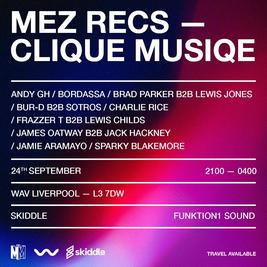 Mez Recs X Clique Music: WAV.