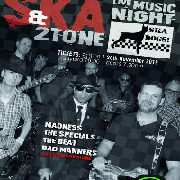 Ska and 2 Tone Live Music Night