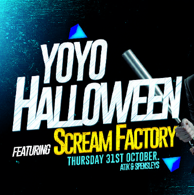 YOYO HALLOWEEN 2019 Featuring Scream Factory!
