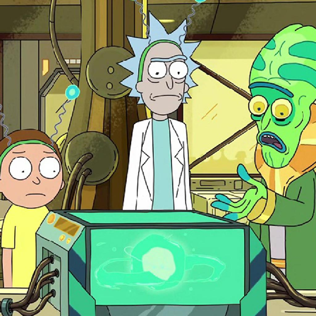 Rick & Morty Halloween Party Sheffield