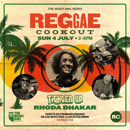The Reggae Cookout - Seated & Socially distanced