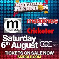 The Official Reunion - Maximes // Monroes // Cricketer
