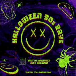 Halloween 90s Rave