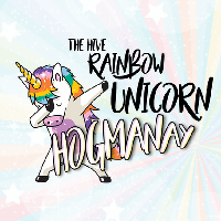 Rainbow Unicorn Hogmanay