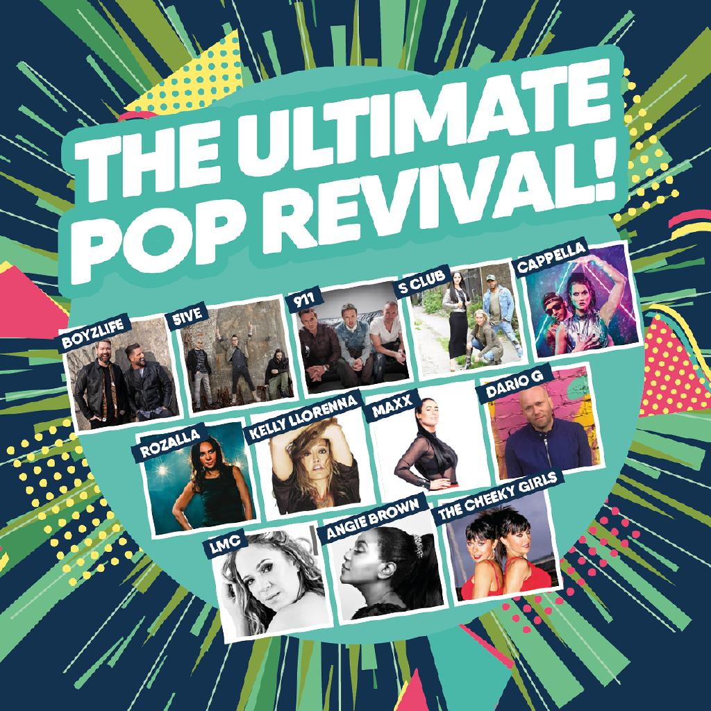 Pop Revival Sheffield - Angie Brown, Cappella, Dario G and more!