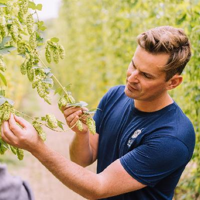 A guided group tour through our historic hop gardens followed by a craft beer tasting