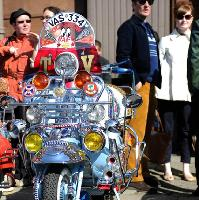 Friday Street 2017 Scottish Mod Rally to Troon - Sat 29 April