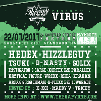 Therapy DnB presents VIRUS with 5 Headliners!