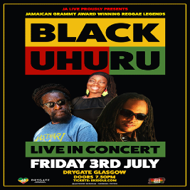 JA Live proudly presents: Black Uhuru
